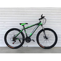 """Велосипед горный TopRider-01 26"""" зеленый, фото 1"""