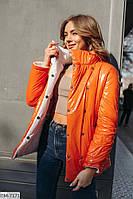 Удлиненная удобная двусторонняя курточка, фото 1