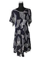 Платье клеш средней длины L - XXXL (C1944)