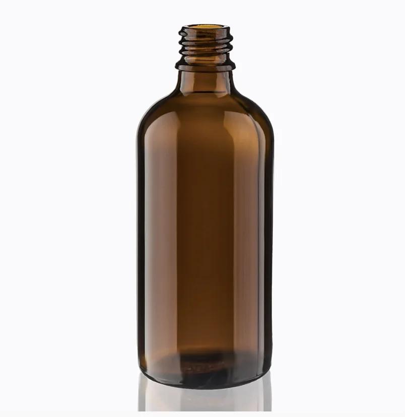 Флакон (Украина) Коричневый (полупрозрачный), стекло