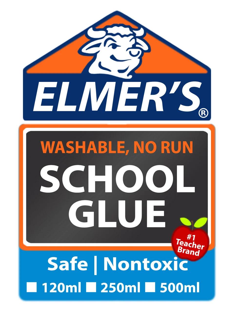 Клей для слаймов Elmer's School Glue Белый