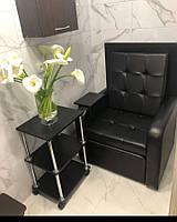 Педикюрные кресла с кожзама , мебель для салонов красоты