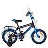 Велосипед дитячий PROF1 14 Д. SY1455 чорно-червоний, фото 3