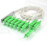Дільник Coupler PLC-1x8-split-0-SC/APC mini 0.9mm