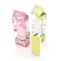 Powerbank (Polymer Battery) Remax Milk Couple RPP-28, 2xUSB, 5V, 1A, 11000mAh, Yellow, Blister