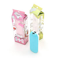 Powerbank (Polymer Battery) Remax Milk Couple RPP-28, 2xUSB, 5V, 1A, 11000mAh, Blue, Blister