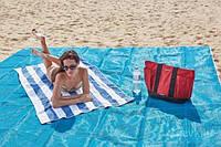 Пляжное покрывало анти песок Sand Free Mat 200*150 см