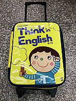 Детская дорожная сумка, чемодан на колесиках