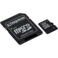 Карта памяти Kingston Micro SDHC 8Gb class 4 +SDr USB - Оптово-розничный магазин электроники и аксессуаров. ОстровВашейТехники! в Харькове