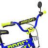 Велосипед детский PROF1 14 Д.  T14172 белый, фото 2