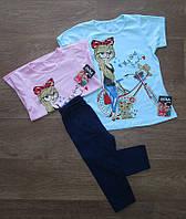 Летний костюм на девочку турецкий,детская одежда Турция,турецкий детский трикотаж,интернет магазин,стрейч