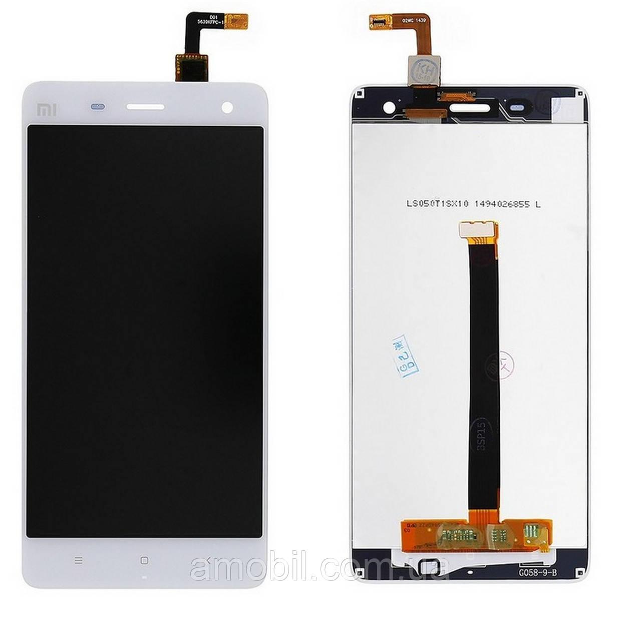 Дисплей + Сенсор Xiaomi Mi4, Mi 4 , Mi4X ,Mi4W white orig