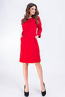 Платье женское, модель 772 , красный, фото 1