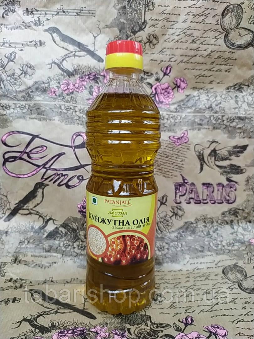 Кунжутне масло Патанджалі, Sesame Oil Patanjali, 500мл