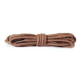 ✅ Тонкие круглые шнурки для обуви коньячного цвета Kaps Thin Round Laces, 60 см Ø 2 мм