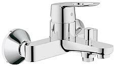 Набор смесителей для умывальника, ванны и душевая стойка M-Size Grohe BauLoop 123215M, фото 3