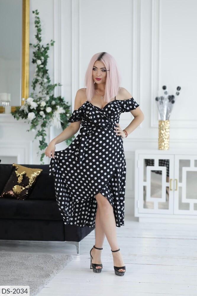 Стильное платье   (размеры 48-56) 0243-22