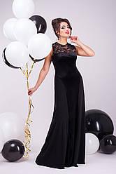 """Вечірнє плаття """"Аманда"""" (чорний)"""