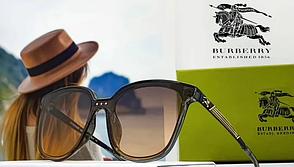 Женские солнцезащитные очки Burberry (9106) Grey