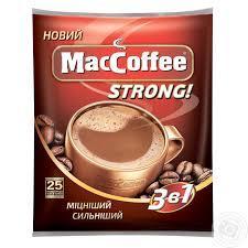 Маккофе 3 в 1 м/у стронг