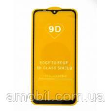 Защитное стекло 9D Xiaomi Redmi Mi A3 full glue black
