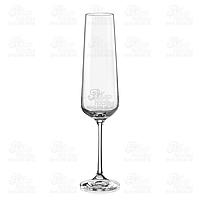 Crystalex Набор бокалов для шампанского Sandra 00000 200мл 40728 200 - 2