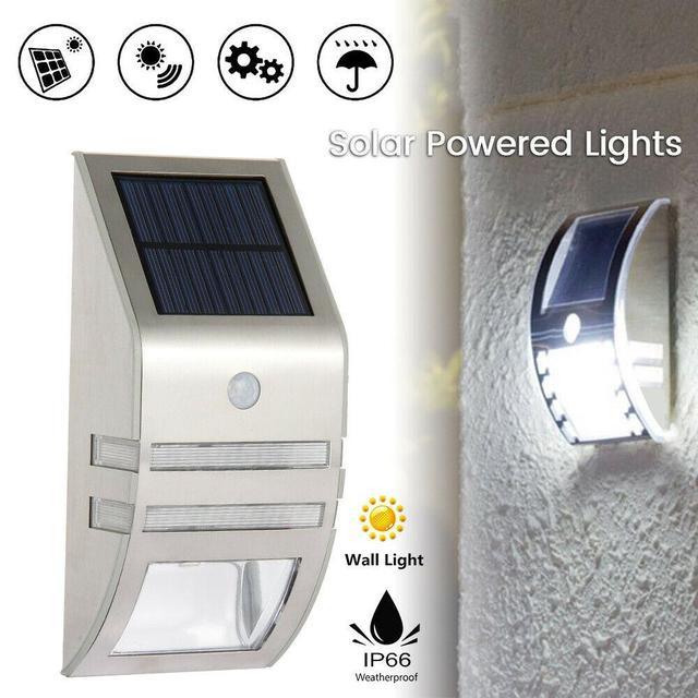 Комплект фасадных светильников с датчиком движения (3 шт.) - Интернет магазин LifeStyle в Львові