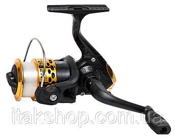 Катушка для рыбалки XM-200 3bb (с леской)
