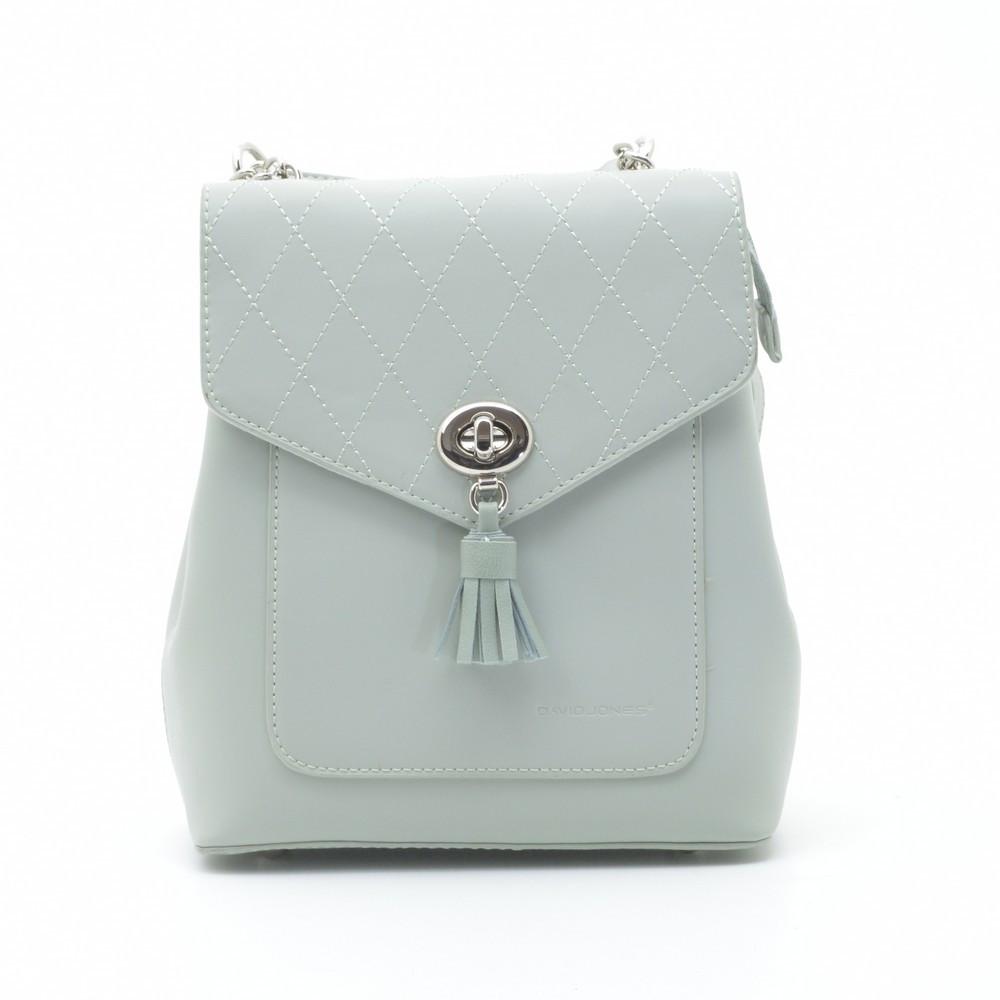 Рюкзак жіночий David Jones 205587 світло зелений