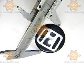 Наклейка эмблема колеса HONDA (4шт) силикон (диаметр ф60мм), фото 3