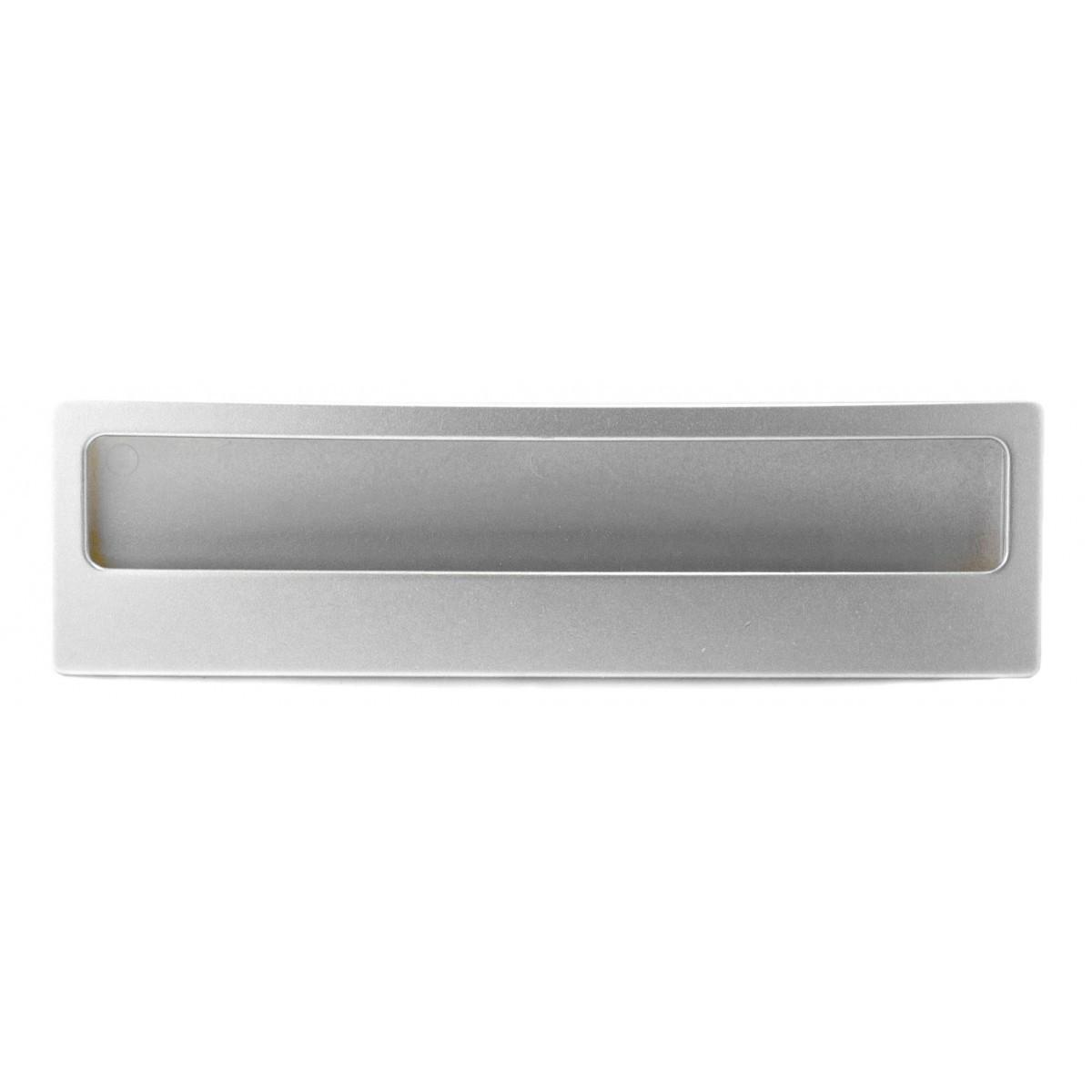 Ручка меблева Ozkardesler 5385-03 GOммE 128мм Матовий Хром