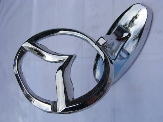 Эмблема на капот Mazda (прицел), фото 2