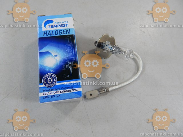 Лампа H3 12V 100W (1шт) (пр-во TEMPEST)