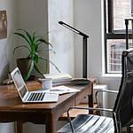 Светодиодный настольный светильник Feron DE1728 9W 2700K-4000K-6500K Черный, фото 9