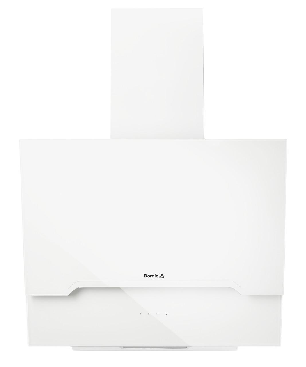 Кухонна витяжка похила BORGIO RNT-RS 60 white SU (1000 м/куб)