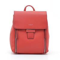 Рюкзак жіночий David Jones 205520 червоний, фото 1