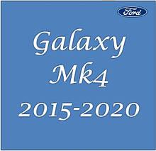 Ford Galaxy Mk4 2015-2020