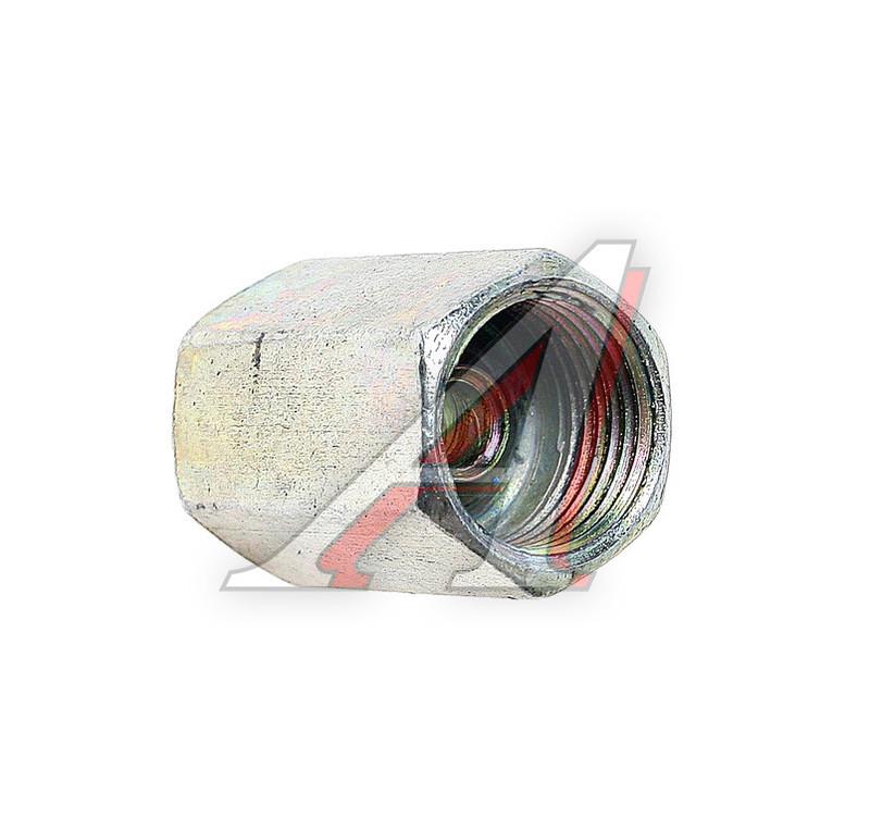 Переходник резьбовой (для торм. Трубок) внутр ф12*1,25 - внутр ф12*1,25 №7