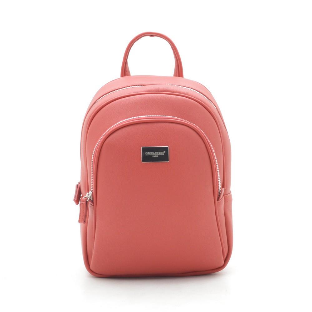 Рюкзак жіночий David Jones 200765 червоний