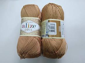 Пряжа Дива (Diva) ALIZE цвет 369 бежевый