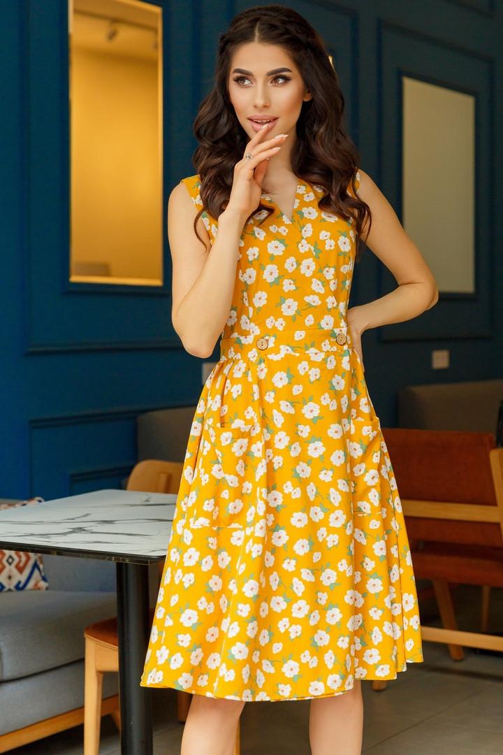 Женское платье с 42 по 46 рр софт
