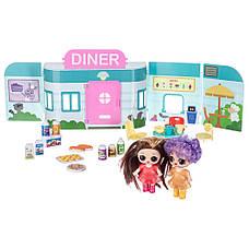 "Игровой набор \""Куколки LOL OMG: Mini Diner\"" с 2 куклами, фото 3"