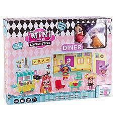 "Игровой набор \""Куколки LOL OMG: Mini Diner\"" с 2 куклами, фото 2"