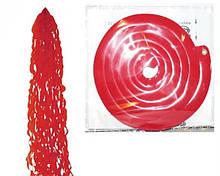 Тасел спіраль червоний