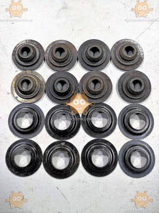 Тарелка клапана Волга, Газель, УАЗ ЗМЗ 402 (к-кт 16шт) (шайба пружины клапана) для двиг. С 16-ти пружинами (не, фото 2