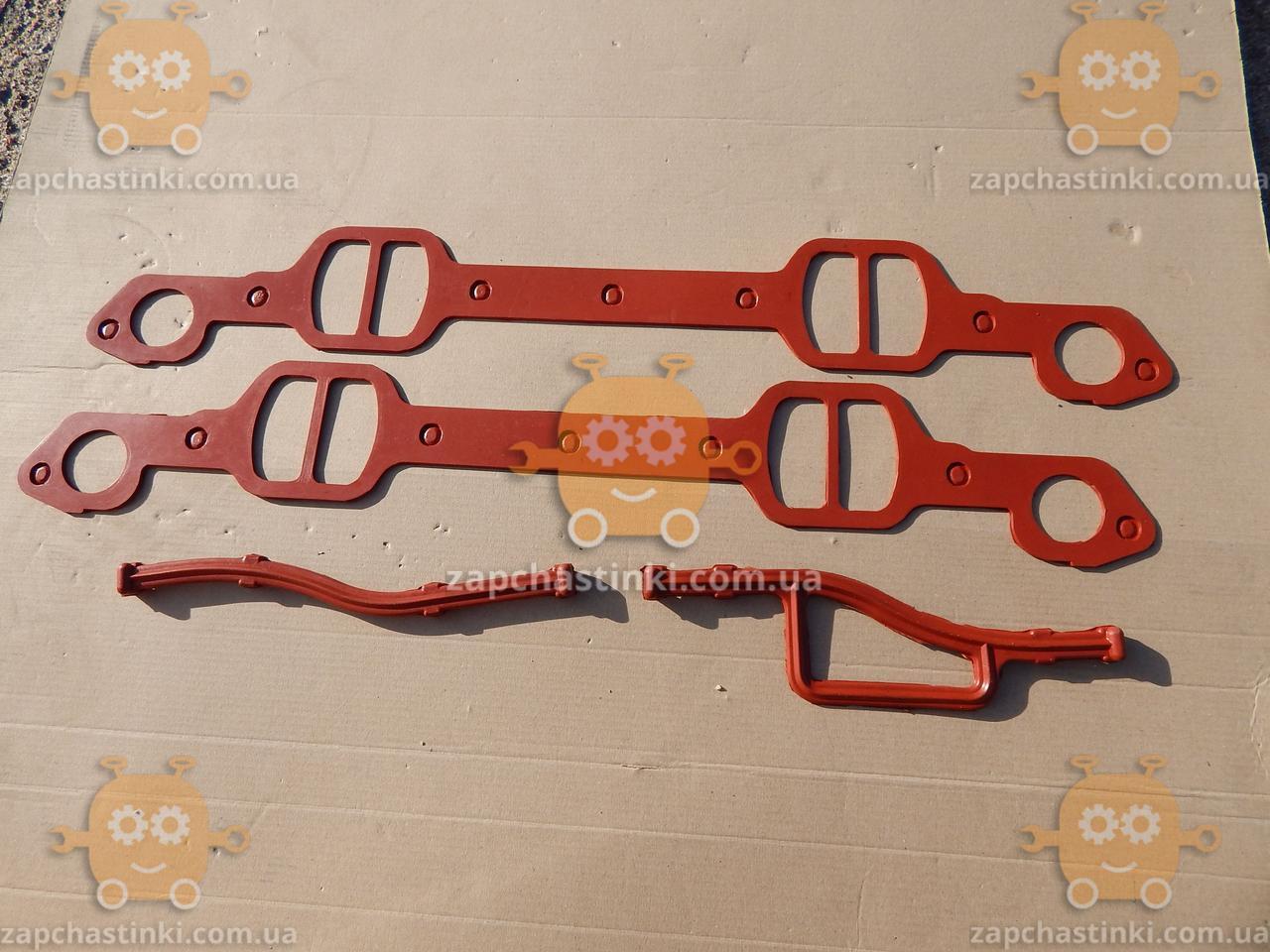 Прокладка паука ЗИЛ 130 СИЛИКОН красный (4 единицы) З 154903