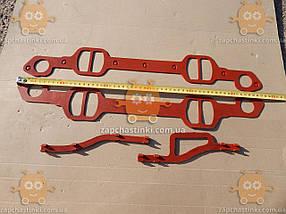 Прокладка паука ЗИЛ 130 СИЛИКОН красный (4 единицы) З 154903, фото 2