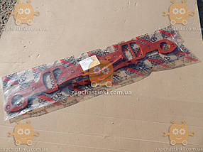 Прокладка паука ЗИЛ 130 СИЛИКОН красный (4 единицы) З 154903, фото 3