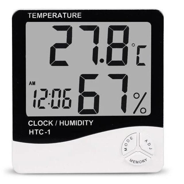 Термометр цифровий гігрометр HTC-1