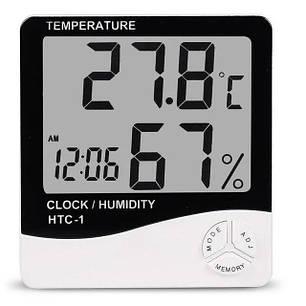 Термометр цифровий гігрометр HTC-1, фото 2